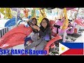 Trip to a Family Outdoor Theme Park in the Philippines. Kids' Theme Park Rides and Playtime
