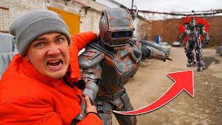 Спасаем робота чтобы подготовить его к битве роботов