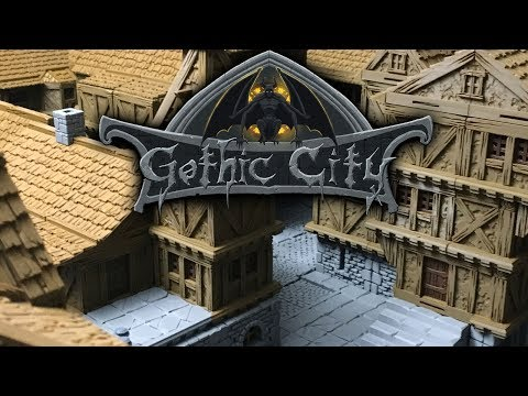 GOTHIC CITY (TILESCAPE 2 0) TRIAL PACK - OUR NEW KICKSTARTER