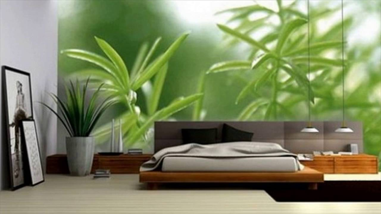 Interior design ideas bedroom wallpaper