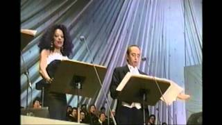 KAWA NO NAGARE, NO YOUNI- Diana Ross, P.Domingo & J. Carreras- live in Osaka-