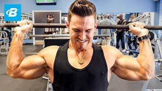 Brutal Shoulder Workout for Mass | Abel Albonetti