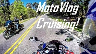 SO MANY BIKES!: Sunday Drive On The CBR 600! MotoVlog #1