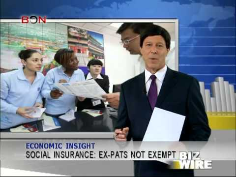 Social insurance: ex-pats not exempt - Biz Wire - December 6,2013 - BONTV China