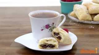 Valentine's Day Recipes - How To Make Easy Chocolate Croissants