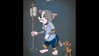Cartoon Charaktere in Ihrem Alter