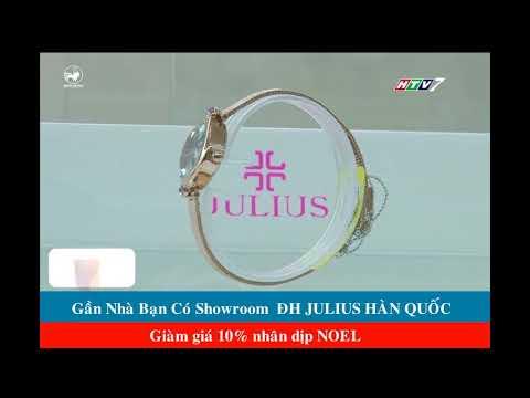 [Mua Gì ở đâu] HTV7 Nói Về Showroom Đồng Hồ Julius Hàn Quốc   Donghojulius.com
