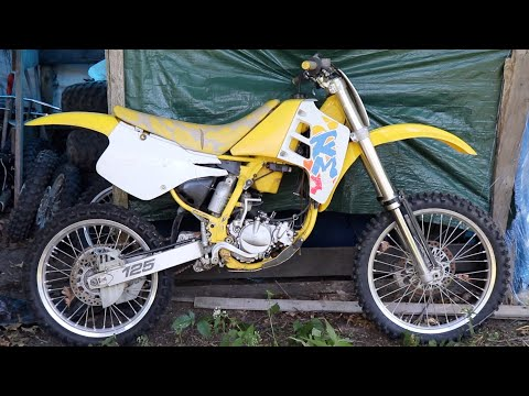 Trashed Dirt Bike – SUZUKI RM125 MOTORCYCLE REVIVAL – Can We Fix it ?