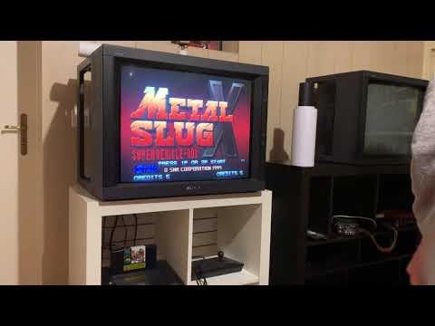 Neo Géo AES Collection Update / Complete Série Of Metal Slug