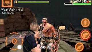 Resident Evil 4 Versão Android Gameplay Mission 20
