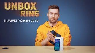 2019 METŲ HUAWEI?   HUAWEI P Smart 2019   Unbox Ring apžvalga