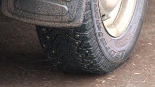 С Нового года будут изменены требования к глубине проектора зимних шин