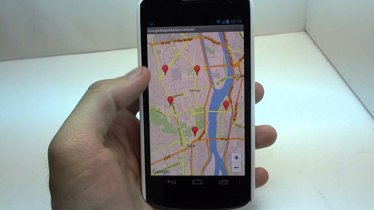 how to make google maps responside in android studio