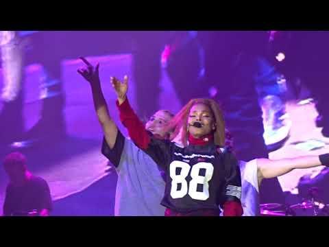 Janet Jackson PANORAMA: No Sleeep - Got Till It's Gone - TTWLG - So Much Betta - Throb Live