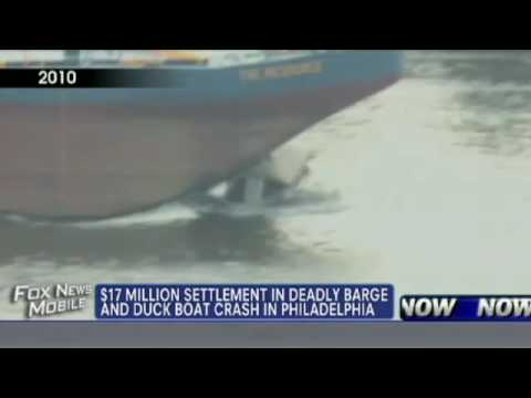 $17M Settlement in Deadly Barge Crash