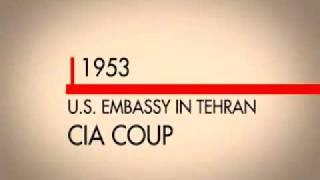 History of U.S. Intervention in Iran - 1953 Until Present