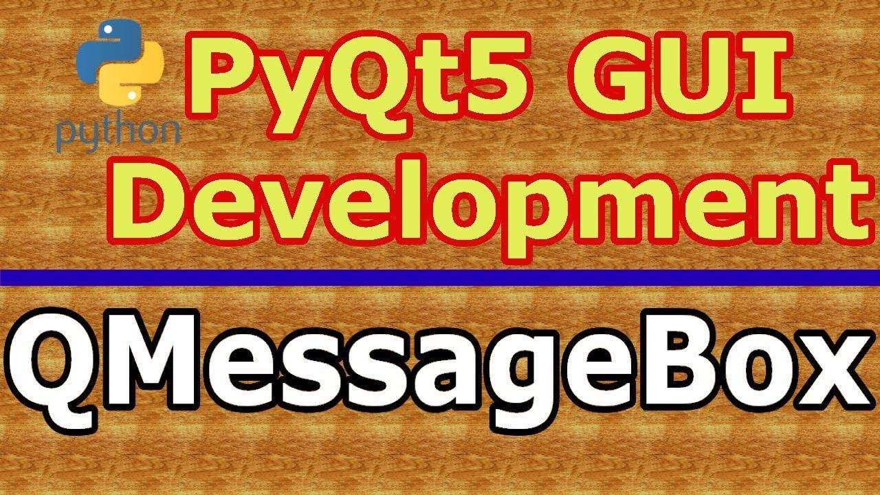 Pyqt4 qmessagebox example