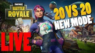 NEO MODE 20 VS 20 FORTNITE LIVE !!! Fortnite Battle Royale