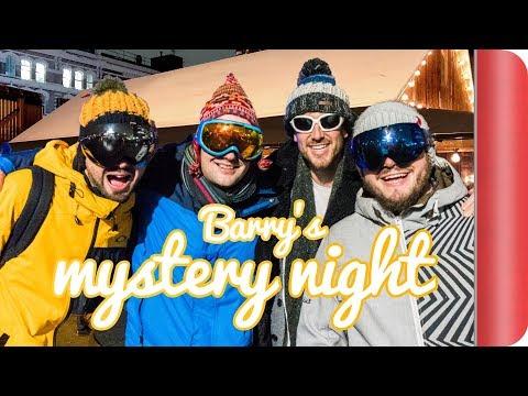 Mystery Night in London: Après Ski, Pizza und Skaten