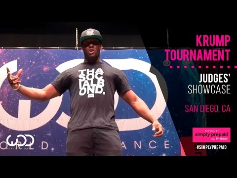 Ruin | Krump Tournament Judges Showcase | #WODSD15 | Powered by #SimplyPrepaid from T-Mobile