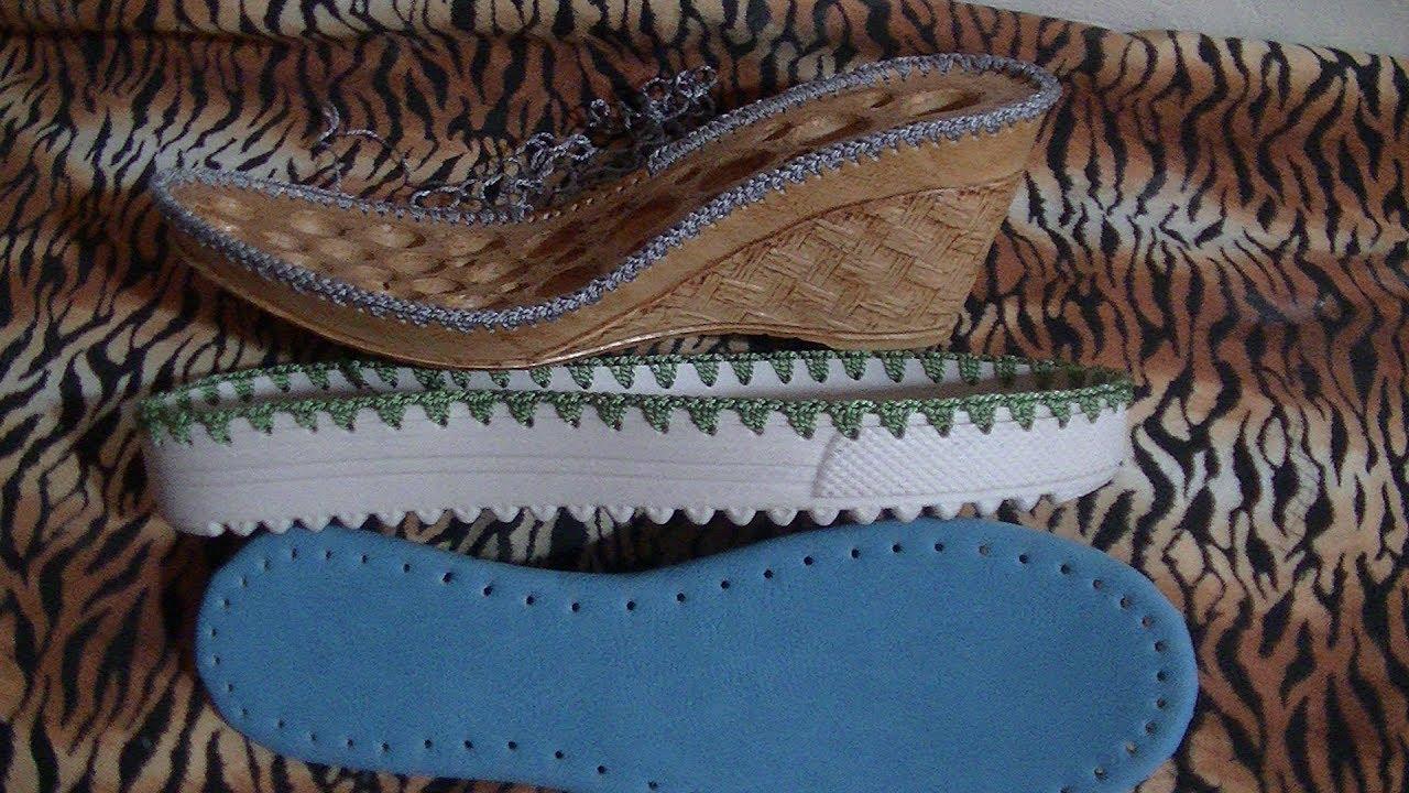 Clase 3 Tejido De Suela Y Plantilla Curso Básico De Zapatos