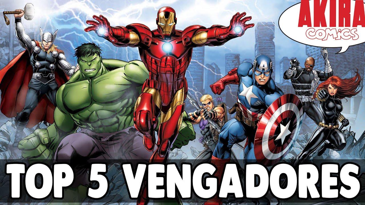 Top 5 mejores comics de los vengadores akira comics - Descargar imagenes de los vengadores ...