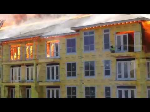 Fire Near AIG Campus (watch this now!!!)