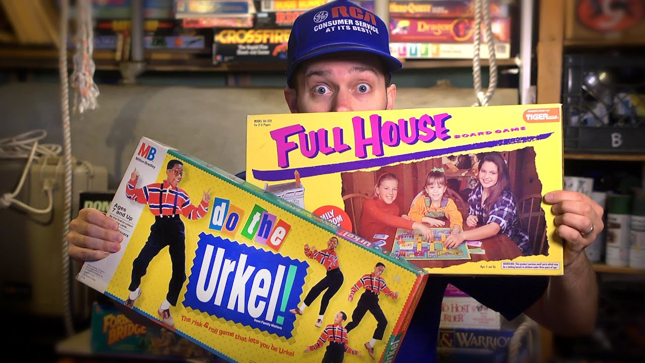 Full House & Urkel Games – Board James (Episode 24)