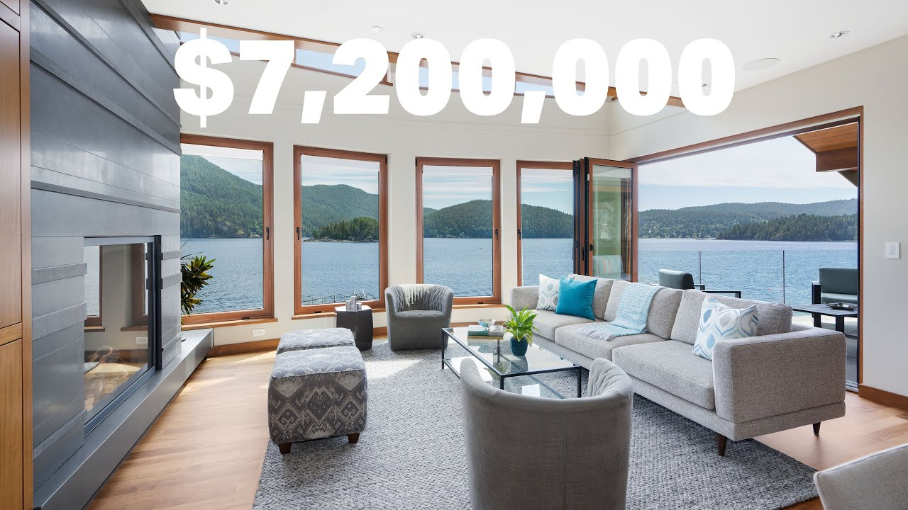 Look inside a classic Westcoast waterfront home   $7,200,000