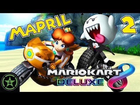 Let's Play - Mario Kart 8 Deluxe: Mario Kart Mapril (#2)