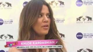 Khloe Kardashian Talks Weight Loss and Summer Style at the 2011 NIVEA Good-Bye Cellulite Challenge