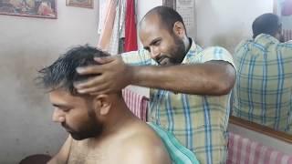 Reiki master powerful Head massage with neck cracking ASMR videos.