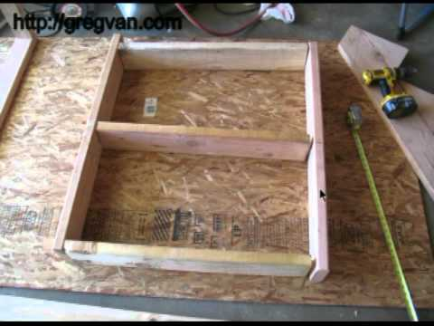 How To Assemble Framing Platform On Ground - Construction Tips