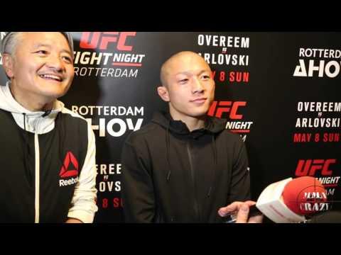 Kyoji Horiguchi UFC Fight Night Rotterdam Post Fight Media Scrum