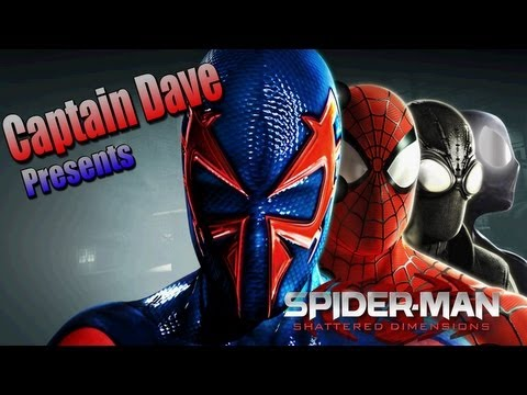 Spider-Man: Shattered Dimensions - Walkthrough Part 1: Spider-Men