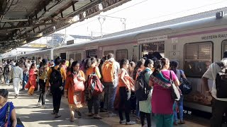 Mumbai Local Train Kandivali Station Mumbai Max.