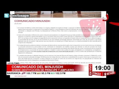 Exitosa Noticias 20 de julio del 201