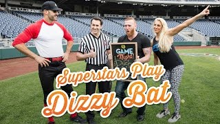 WWE Superstars play Dizzy Bat: WWE Game Night