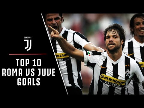 AMAZING GOALS! | ROMA VS JUVENTUS TOP 10
