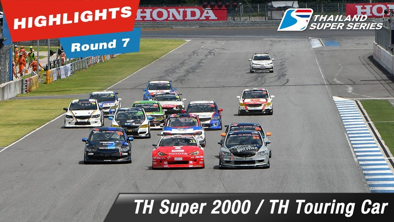Highlights Thailand Super 2000 / Thailand Touring Car : Round 7 @Chang International Circuit