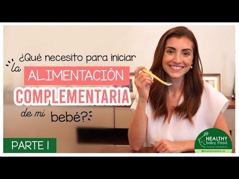 Alimentación Complementaria: ¿Qué necesito para iniciar? PARTE 1