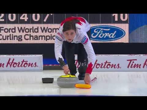 Shannon Birchard. 1st shot at the World Championship