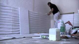 Montaż paneli dekoracyjnych Dunes