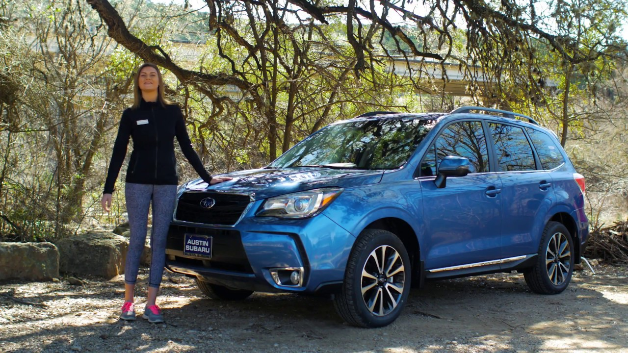 New Features On The 2017 Subaru Forester