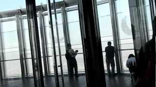 Подъем на башню Бурдж-Халифа. ОАЭ(Рекорды, установленные зданием высочайшее наземное сооружение за всю историю человеческого строительств..., 2012-08-19T14:26:05.000Z)