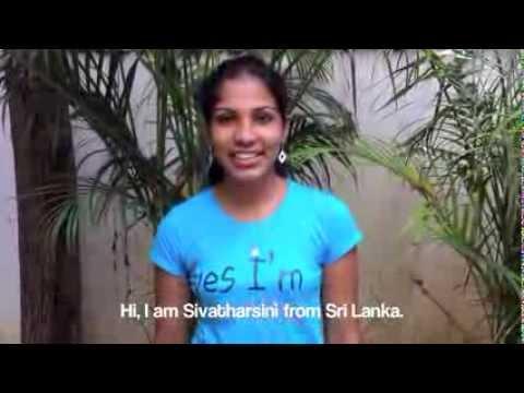 The Visions Scholarship Program: Meet Sivatharsini