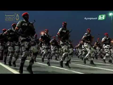 الحفل السنوي لاستعراض قوات أمن الحج برعاية سمو ولي العهد الأمير محمد بن سلمان