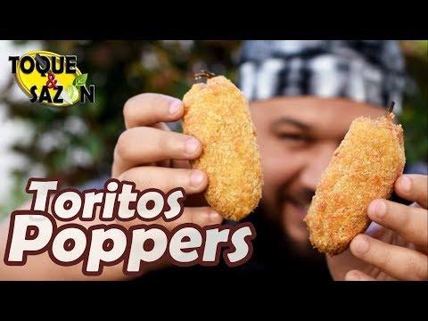 TORITOS CARIBENOS | Jalapeno Poppers | TOQUE Y SAZÓN
