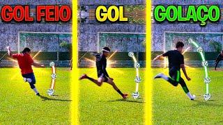 GOL FEIO, GOL ou GOLAÇO!! (GOL BONITO VALE MAIS!)