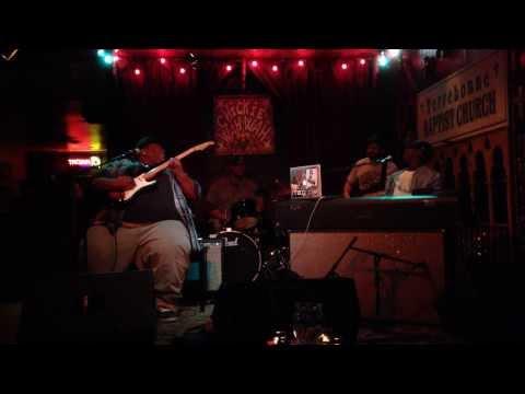 Nigel Hall Band playing